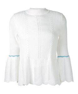 LOVELESS | Bell Sleeve Ribbed Jumper 34 Cotton/Acrylic