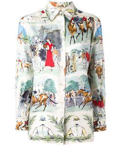 Hermès Vintage | Chantilly Print Shirt Size