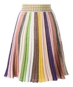 Missoni | Stripe Rainbow Skirt 40 Rayon/Polyester/Viscose/Spandex/Elastane