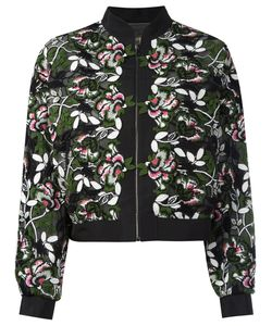Giambattista Valli | Куртка С Цветочной Вышивкой