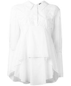 Jil Sander Navy | Pleated Shirt 38 Cotton