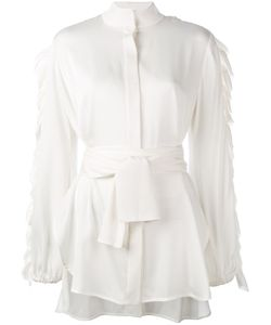 Ellery | Audacity Belted Shirt Size