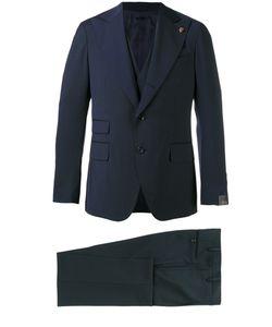 GABRIELE PASINI | Wide Lapel Single-Breasted Suit 48