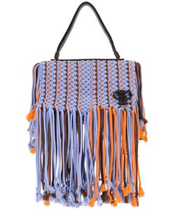 Emilio Pucci | Fringed Trim Bag Polyester/Leather