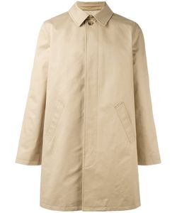 A.P.C. | Classic Single-Breasted Coat Large Cotton/Viscose
