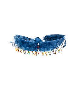 DANNIJO | Beaded Scarf Choker Necklace Women