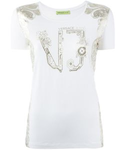 Versace Jeans | Logo Print T-Shirt Xs Spandex/Elastane/Viscose