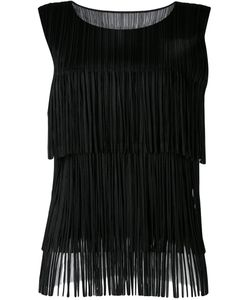PLEATS PLEASE BY ISSEY MIYAKE | Fringed Top