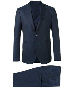 Tagliatore | Pinstripe Three Piece Suit