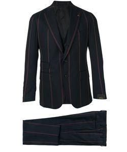 GABRIELE PASINI | Striped Three-Piece Suit Size 48