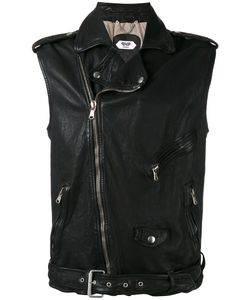 Pihakapi | Sleeveless Biker Jacket Large