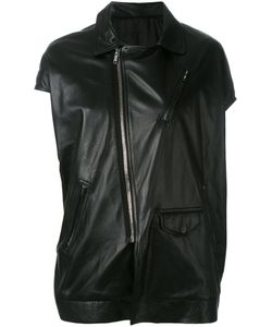 Rick Owens | Asymmetric Short Sleeve Biker Jacket Size