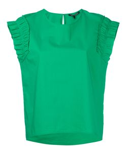 Luisa Cerano   Ruched Sleeves T-Shirt