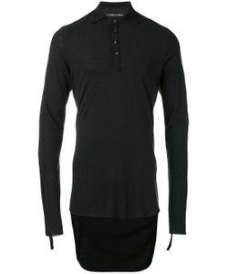 CEDRIC JACQUEMYN | Drop Hem Polo Shirt