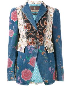 Roberto Cavalli | Patch Fitted Jacket