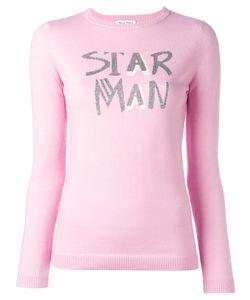 Bella Freud   Star Man Jumper Xs Viscose/Nylon Fibre/Wool