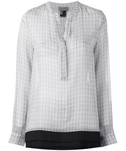 TONY COHEN | Double Layer Blouse