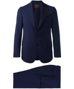 MP MASSIMO PIOMBO | Single-Breasted Dinner Suit Size 52 Cotton/Viscose/Mohair/Virgin