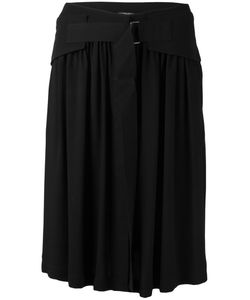 Ann Demeulemeester | Buckled Skirt 38 Viscose
