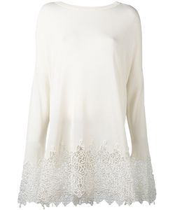 Ermanno Scervino | Embroidered Hem Jumper