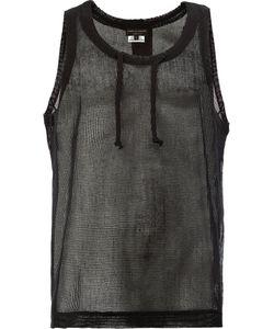 COMME DES GARCONS HOMME PLUS | Comme Des Garçons Homme Plus Open Knit Vest Size Medium