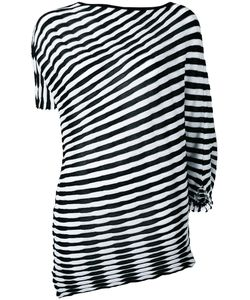 Issey Miyake | Striped Top Size