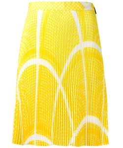 MSGM | Geometric Pattern Pleated Skirt Size 40