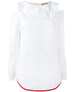 Erika Cavallini | Cut-Out Shoulders Blouse