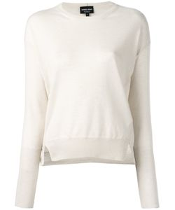 Giorgio Armani | Split Hem Sweater 42 Cashmere