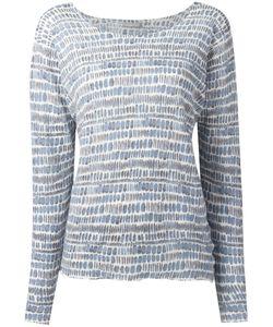 Hemisphere | Striped Sweatshirt 38 Linen/Flax