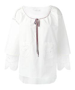 Tsumori Chisato | Ruffle-Sleeve Blouse S