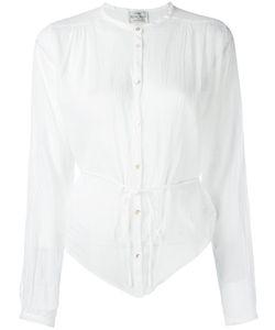 Forte Forte | Mandarin Neck Sheer Shirt