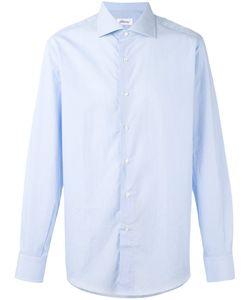 Brioni | Рубашка С Закругленным Подолом