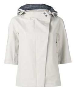 Herno | Hooded Jacket 44 Polyester/Fluorofibra