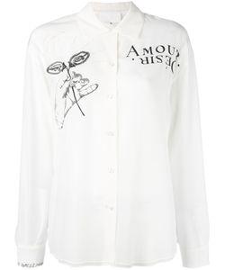 Maison Margiela   Рубашка С Принтом