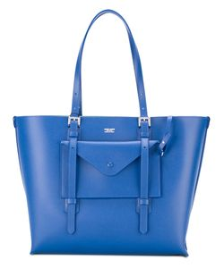 Giorgio Armani | Contrast Interior Tote Calf Leather