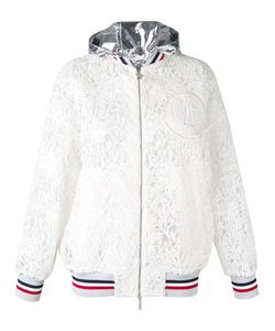 Moncler Gamme Rouge | Embroidered Hooded Jacket