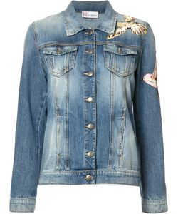 Red Valentino | Bird Patches Denim Jacket 38 Cotton