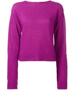 Mugler | Cropped Jumper 36 Cotton/Polyester/Viscose