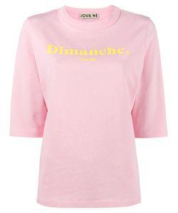 Jour/Né | Dimanche Printed T-Shirt Women 38