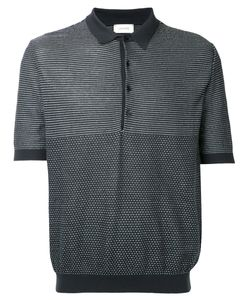 LEMAIRE | Patterned Polo Shirt Size Medium