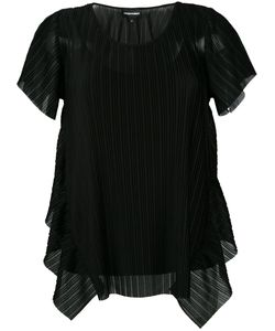 Emporio Armani | Pleated Blouse 38 Polyester