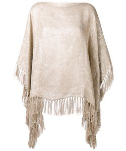 Brunello Cucinelli | Fringed Cape One