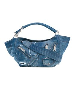 Dsquared2 | Distressed Denim Hobo Bag