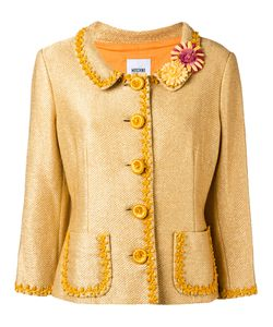 MOSCHINO VINTAGE | Flower Detail Jacket Size
