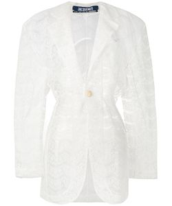JACQUEMUS | Sheer Lace Coat 36