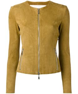 Drome | Collarless Jacket Xs Leather