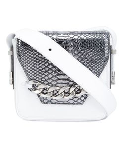 Thomas Wylde | Snakeskin Detail Crossbody Bag Calf