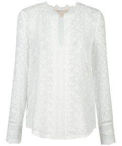 Rebecca Taylor | Embroide Silk Blouse 6 Silk