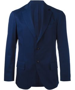MP MASSIMO PIOMBO | Unconstructed Single-Button Blazer Size 56